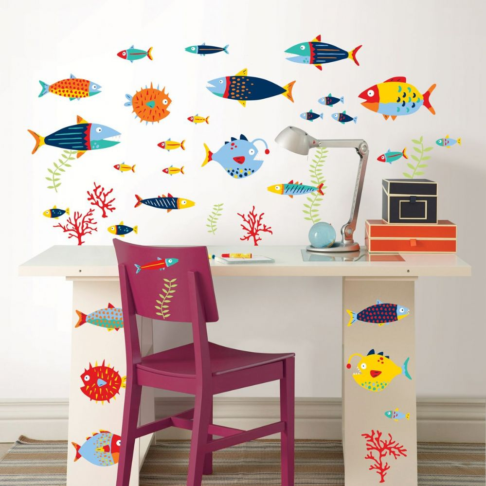 Fish Tales Wall Sticker Set